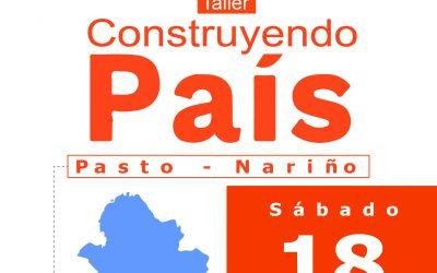 CORPONARIÑO BOLETIN Taller construyendo un País